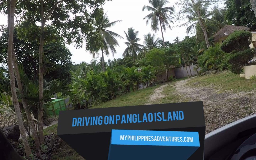 Driving On Panglao Island, Bohol, Philippines