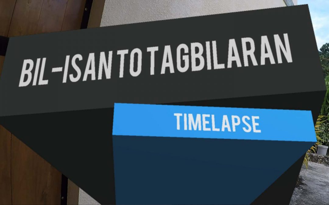 Time-lapse – Driving Bil-isan to Tagbilaran